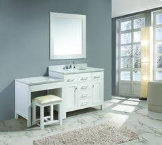 Bathroom Vanity With Makeup Table by 60 Inch Bathroom Vanity Single Sink With Makeup Area Google