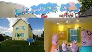 peppa pig world at paultons park theme park uk youtube