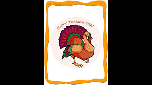 thanksgiving flashcards learn easy
