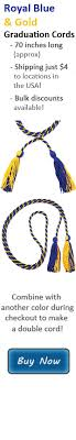 graduation cords for sale single honor cords cap and gown whole sale