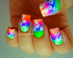 summer acrylic nail designs nails pinterest summer acrylic