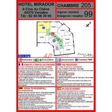 plan chambre d hotel plan d évacuation pour chambre d hôtel à télécharger
