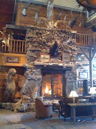 bass pro fireplace photo a day fireplace in the entrance u2026 flickr