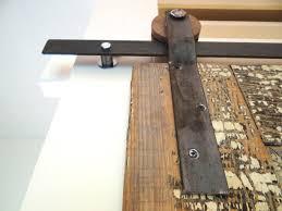 Home Design Door Hardware by Interior Design Nice Rustic Sliding Door From Steel To Hanging
