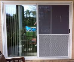 Patio Door Glass Replacement Cost Patio Door With Pet Built In Glass Cost How To Install A