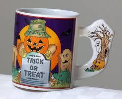 halloween coffee mug trick or treat goodies for halloween ebay