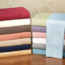 bedroom beautiful soft sateen sheets with unique accent colors
