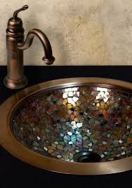 Bathroom Vanity With Copper Sink Complete Your Bathroom Vanity With This Stunning Copper Sink Its