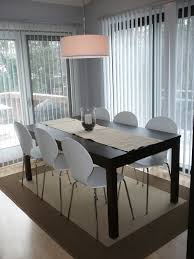 ikea dining room table and chairs dining room rugs ikea a light furnished with large white table and