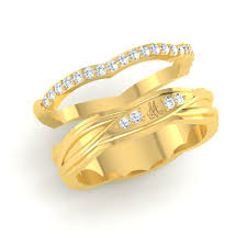 couple rings gold images Women statement midi ring set jpg