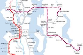 Map Of Seattle Airport by Ballard To Redmond By Light Rail Sound Transit Thinkin U0027 Bout It