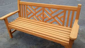 maintaining teak furniture and all outdoor woods