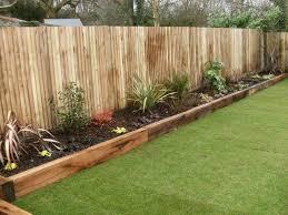 Garden Dividers Ideas Wooden Garden Dividers Best 25 Wooden Garden Edging Ideas On