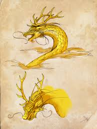 chinese dragon sketches by cursed sight on deviantart