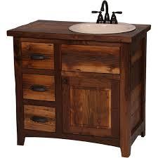 Rustic Bathroom Vanities For Sale Having An Elegant And Nice Rustic Bathroom Vanities Hometutu Com