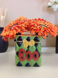 halloween flower pen arrangement floralpensnthings