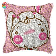 online get cheap embroidery pillow pink aliexpress com alibaba