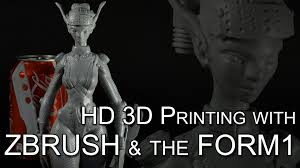 Home Design 3d Pc Chomikuj by 3d Sculpting And 3d Printing Timelapse With Zbrush And The Form1