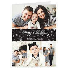 personalized christmas cards personalized photo greeting cards to make online or print