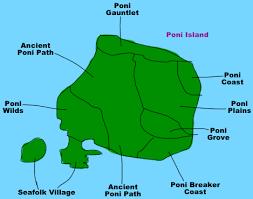 island on map maps pokémon sun and moon walkthrough