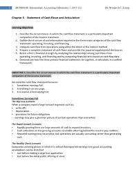 objectives of cash flow statement ch 5 cash flow statement expense 5 cash flow statement expense