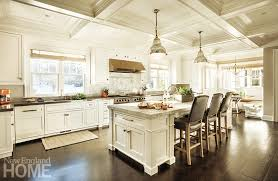 Classic White Kitchen Designs Contemporary Hardware And Materials Update The Classic White