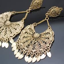 vintage gold aztec mexico art deco filigree calendar chandelier