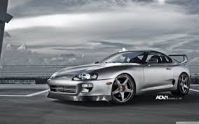 tuner cars wallpaper cars toyota supra adv 1 adv1 wheels wallpaper allwallpaper in