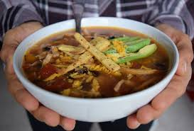 healthy turkey tortilla soup thanksgiving leftovers sweet