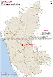 Kcc Map Davanagere Location Map Where Is Davanagere