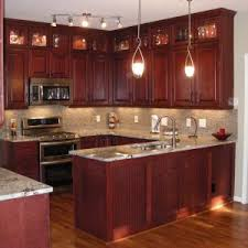 Furniture Wood Cherry Kitchen Cabinets For Furniture Kitchen - Rustic cherry kitchen cabinets