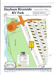 Riverside State Park Trail Map by Riverside Rv Park City Of Heyburn