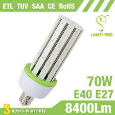 fcc compliant led lights 70w corn style led bulbs etl tuv fcc listed l shining