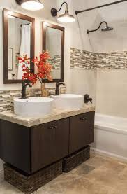 bathroom limestone tiles subway tile backsplash small floor