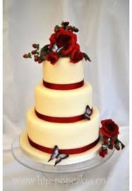 ruby wedding cakes ruby wedding cake