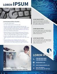 corporate brochure template myindesign
