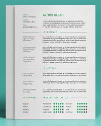 Free And Easy Resume Templates 25 Free Resume Cv Templates To Help You Get The Job