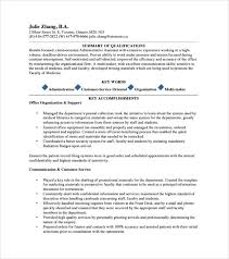 Resume Samples For Executive Assistant by Sample Executive Assistant Resume 6 Examples Format