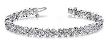 diamond flower bracelet images Largest collection of antique vintage diamond bracelets jpg