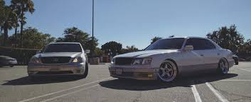 bagged ls400 my lexus ls400 ucf20 with a facelift bumper stance