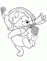 disney winter coloring pages to print simple coloring disney