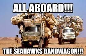 Seahawks Bandwagon Meme - all aboard the seahawks bandwagon bandwagon meme quickmeme
