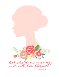 free mother u0027s day printable pink peppermint design