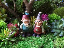 Garden Nome by Fairy Garden Gnome Couple Miniature Garden Gnome Miniature
