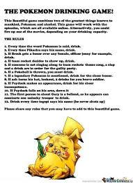 Pokemon Game Memes - the pokemon drinking game by ben meme center