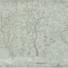 wallpaper for entire wall entire wall wallpaper emerald ming garden scene 20ft