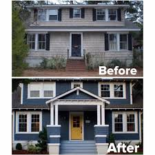 Exterior Mobile Home Makeover by 20 Home Exterior Makeover Before And After Ideas Home Exterior