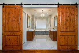 barn door ideas for bathroom sliding barn doors that bring rustic to the bathroom