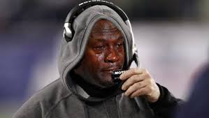 Patriots Broncos Meme - patriots receive crying jordan meme treatment after loss to