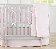 Pink And Aqua Crib Bedding Crib Bassinet U0026 Nursery Bedding Pottery Barn Kids